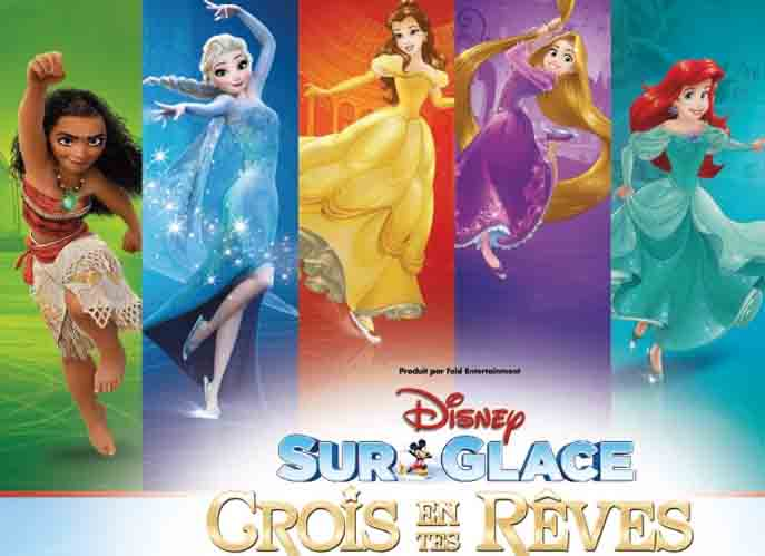 Disney Sur Glace Tous Heros