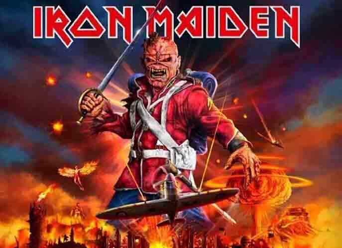 Iron Maiden Tour 2021 Europe