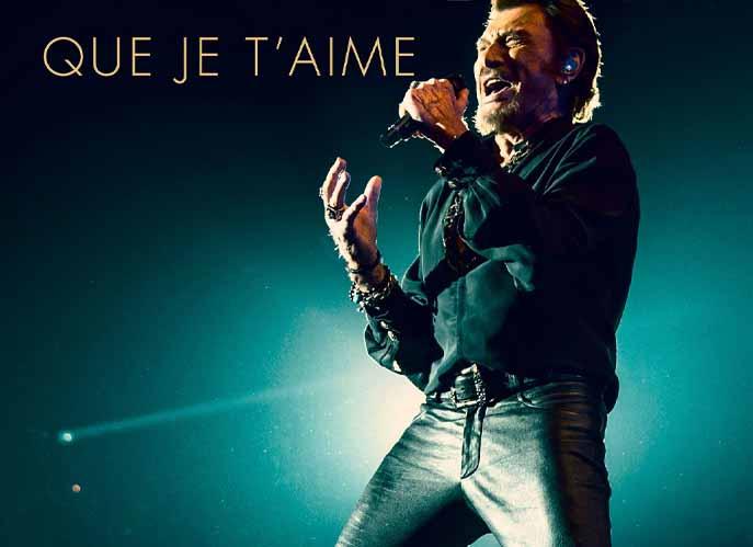 Johnny Hallyday : Que je t'aime !