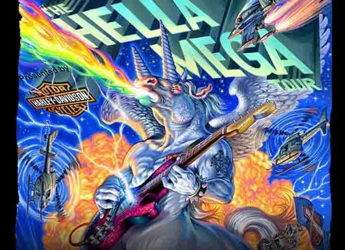 The Hella Mega Tour 2021 Paris